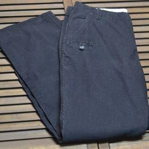 Columbia Sz 12 x 31 Black Corduroy High Waist Pant